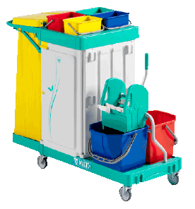 Ramon Hygiene Professional Cleaning Trolley