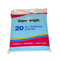Superbright 20pk All Purpose Cloths