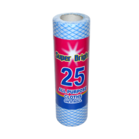 Superbright 25 All Purpose Cloths on a Roll